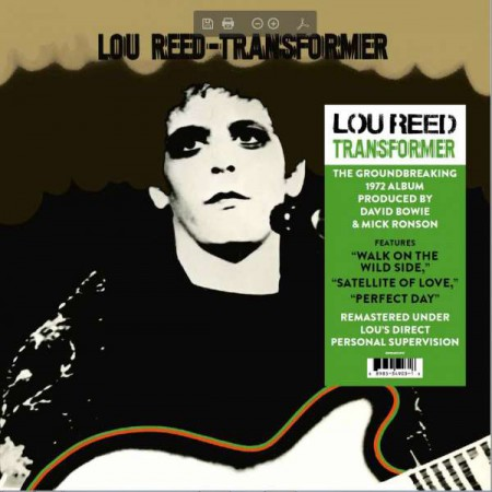 Lou Reed: Transformer - Plak