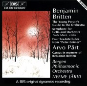 Neeme Järvi, Truls Mork: Britten - The Young Person´s Guide to the Orchestra - CD