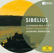Leonard Bernstein, Wiener Philharmoniker: Sibelius: Symphonies 1 ,2, 5, 7 - CD