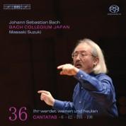 Bach Collegium Japan, Masaaki Suzuki: J.S. Bach: Cantatas, Vol. 36 - SACD