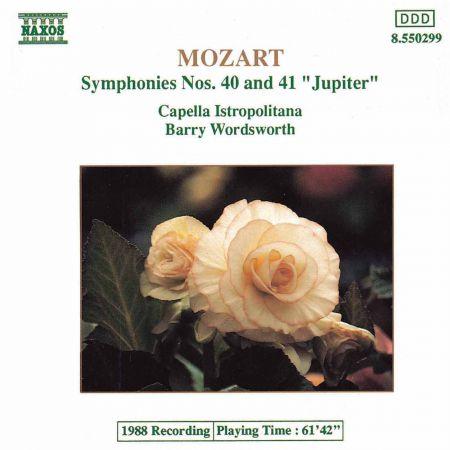 Capella Istropolitana: Mozart: Symphonies Nos. 40 and 41 - CD