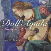 Sandro Volta: Dall'Aquila: Music for Lute - CD