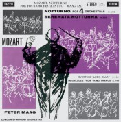 London Symphony Orchestra, Peter Maag: Mozart: Notturno for Four Orchestras - Plak