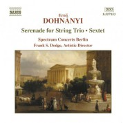 Dohnanyi: Serenade for String Trio / Sextet - CD