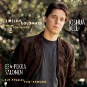 Joshua Bell, Esa-Pekko Salonen, Los Angeles Philharmonic: Sibelius, Goldmark: Violin Concertos - CD