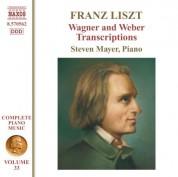 Steven Mayer: Liszt: Wagner & Weber Transcriptions - CD