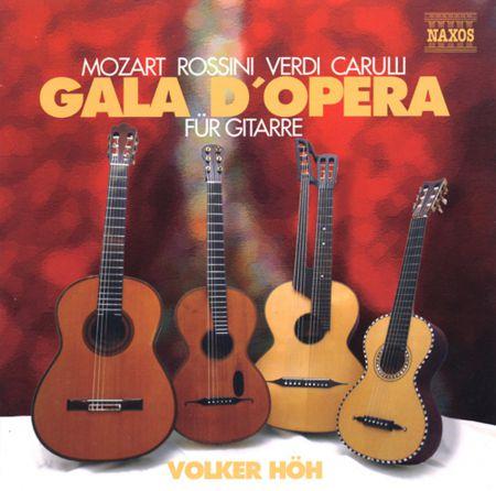 Volker Hoh: Opera Gala for Guitar - CD