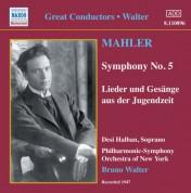Mahler: Symphony No. 5 / Lieder Und Gesange Aus Der Jugendzeit (Walter) (1947) - CD