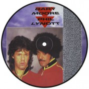 Gary Moore, Phil Lynott: Out in The Fields - Single Plak