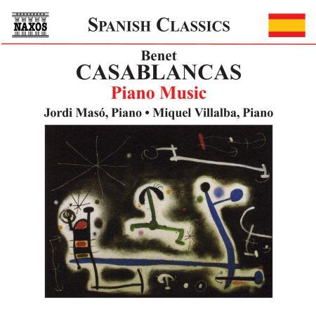 Jordi Masó: Casablancas, B.: Piano Music - CD