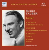 Tauber, Richard: Lieder (1919-1926) - CD