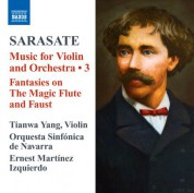 Tianwa Yang: Sarasate: Music for Violin and Orchestra, Vol. 3 - CD