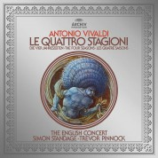 Simon Standage, Trevor Pinnock, The English Concert: Vivaldi: The Four Seasons - Plak