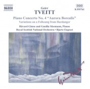 Tveitt: Piano Concerto No. 4 / Variations On A Folk Song - CD