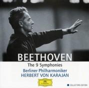 Berliner Philharmoniker, Walter Berry, Herbert von Karajan, Gundula Janowitz, Waldemar Kmentt, Hilde Rössel-Majdan, Wiener Singverein: Beethoven: 9 Symphonies - Karajan (1963) - CD