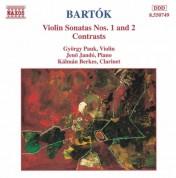 György Pauk, Jenö Jandó: Bartok: Violin Sonatas 1 & 2, Contrasts - CD