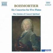 Boismortier: 6 Concertos for Five Flutes, Op. 15 - CD