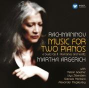 Martha Argerich, Nelson Goerner, Lilya Zilberstein, Gabriela Montero, Daniel Gerzenberg, Alexander Mogilevsky: Rachmaninov: Music For Two Pianos - CD