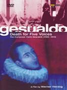 Il Complesso Barocco, Gesualdo Consort of London, Werner Herzog: Gesualdo: Death For Five Voices - A Werner Herzog Film - DVD
