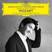 Seong-Jin Cho, Yannick Nézet-Séguin, Chamber Orchestra of Europe: Mozart: Piano Concerto No. 20, K. 466; Piano Sonatas, K. 281 & 332 - Plak