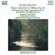 Sequeira Costa: Schumann Piano Concerto in A Minor - Introduction and Allegro Appassionato - CD