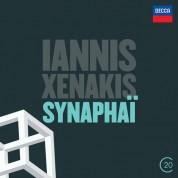 Claudio Abbado, Elgar Howarth, Geoffrey Douglas Madge, Gustav Mahler Jugendorchester, New Philharmonia Orchestra, Roger Woodward: Xenakis: Synaphaï - CD