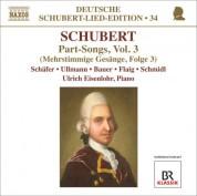 Markus Schafer: Schubert: Lied Edition 34 - Part Songs, Vol. 3 - CD