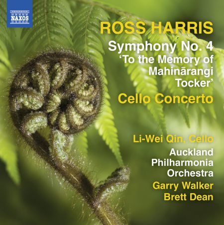 Brett Dean, Li-wei Qin: Ross Harris: Symphony No. 4 & Cello Concerto - CD