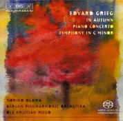 Noriko Ogawa, Bergen Philharmonic Orchestra, Ole Kristian Ruud: Grieg - Piano Concerto - SACD