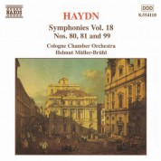 Haydn: Symphonies, Vol. 18 (Nos. 80, 81, 99) - CD