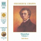 İdil Biret: Chopin: Mazurkas, Vol. 1 - CD