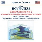 Javier Calderon: Hovhaness: Guitar Concerto No. 2 / Symphony No. 63 / Fanfare for the New Atlantis - CD
