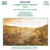 Mozart: Piano Concertos Nos. 11 and 22 - CD