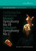 Mozart: Celibidache conducts Mozart Symphony No. 39 & Schubert No. 2 - DVD