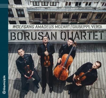 Borusan Quartet: Mozart, Verdi: String Quartets - CD