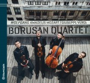 Borusan Quartet: Mozart, Verdi: String Quartets - CD