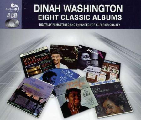 Dinah Washington: Eight Classic Albums - CD