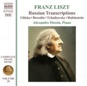 Alexandre Dossin: Liszt: Russian Transcriptions - CD