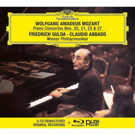Friedrich Gulda: Mozart: Piano Concertos Nos. 20, 21, 25 & 27 - CD