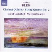Bliss: Clarinet Quintet / String Quartet No. 2 - CD