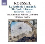 Stéphane Denève: Roussel: Le festin de l'araignée - Padmâvatî Suites - CD
