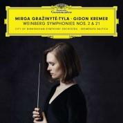 Gidon Kremer, Mirga Gražinytė-Tyla: Weinberg: Symphony No. 2 & 21 - CD