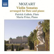 Patrick Gallois, Maria Prinz: Mozart: Violin Sonatas arranged for flute & piano - CD