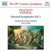 Uwe Grodd, Nicolaus Esterhazy Sinfonia: Vanhal: Symphonies, Vol.  1 - CD