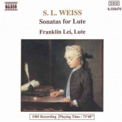 Weiss, S.L.: Lute Sonatas Nos. 12 and 39 / Lute Partita in D Minor - CD
