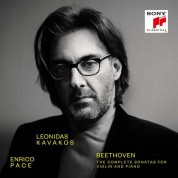 Leonidas Kavakos, Enrico Pace: Beethoven: The Complete Sonatas for Violin and Piano - CD