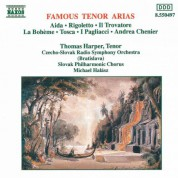 Thomas Harper: Famous Tenor Arias - CD