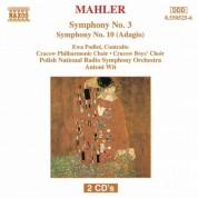Antoni Wit: Mahler, G.: Symphony No. 3 / Symphony No. 10: Adagio - CD