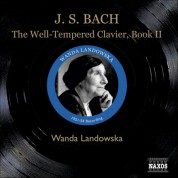 Wanda Landowska: Bach: The Well-Tempered Clavier Book II - CD