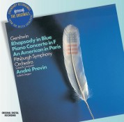 Pittsburgh Symphony Orchestra, André Previn: Gershwin: Rhapsody in Blue, Piano Concerto, An American in Paris - CD